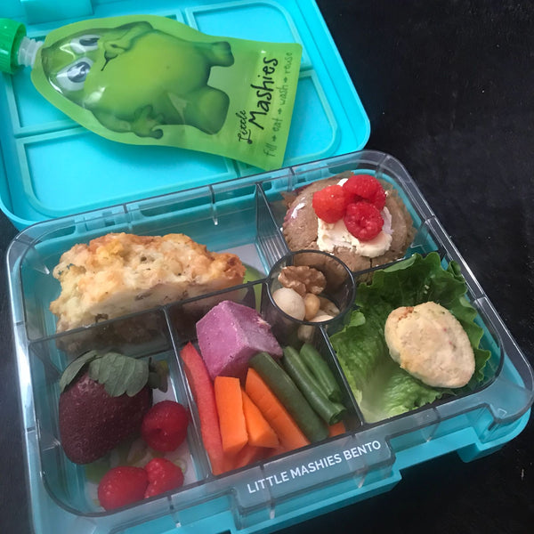 Little Mashies Healthy Lunchbox Ideas for Kids