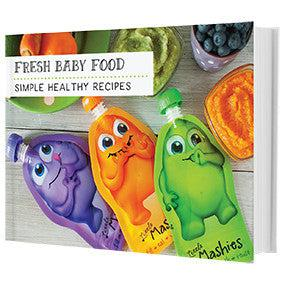 Fresh baby food recipes book