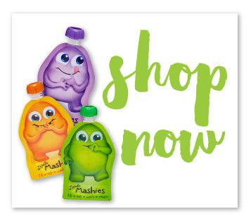 Little Mashies Shop Now For Reusable Food Pouches