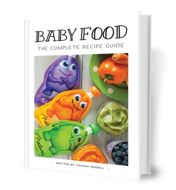 Little Mashies Baby Food Recipe Book: The Complete Guide (printed edition)