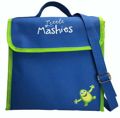 Little Mashies Lunchbox Cooler Bag Blue