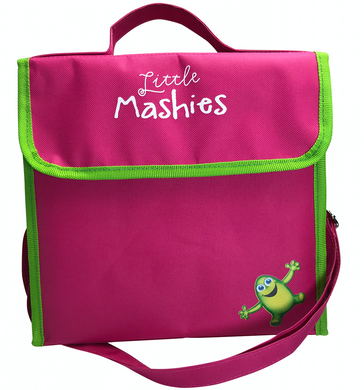 Little Mashies Lunchbox Cooler Bag Pink