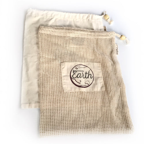 Organic Cotton Bag Set