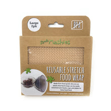 Little Mashies Reusable Stretch Food Wrap (Large 2pk)