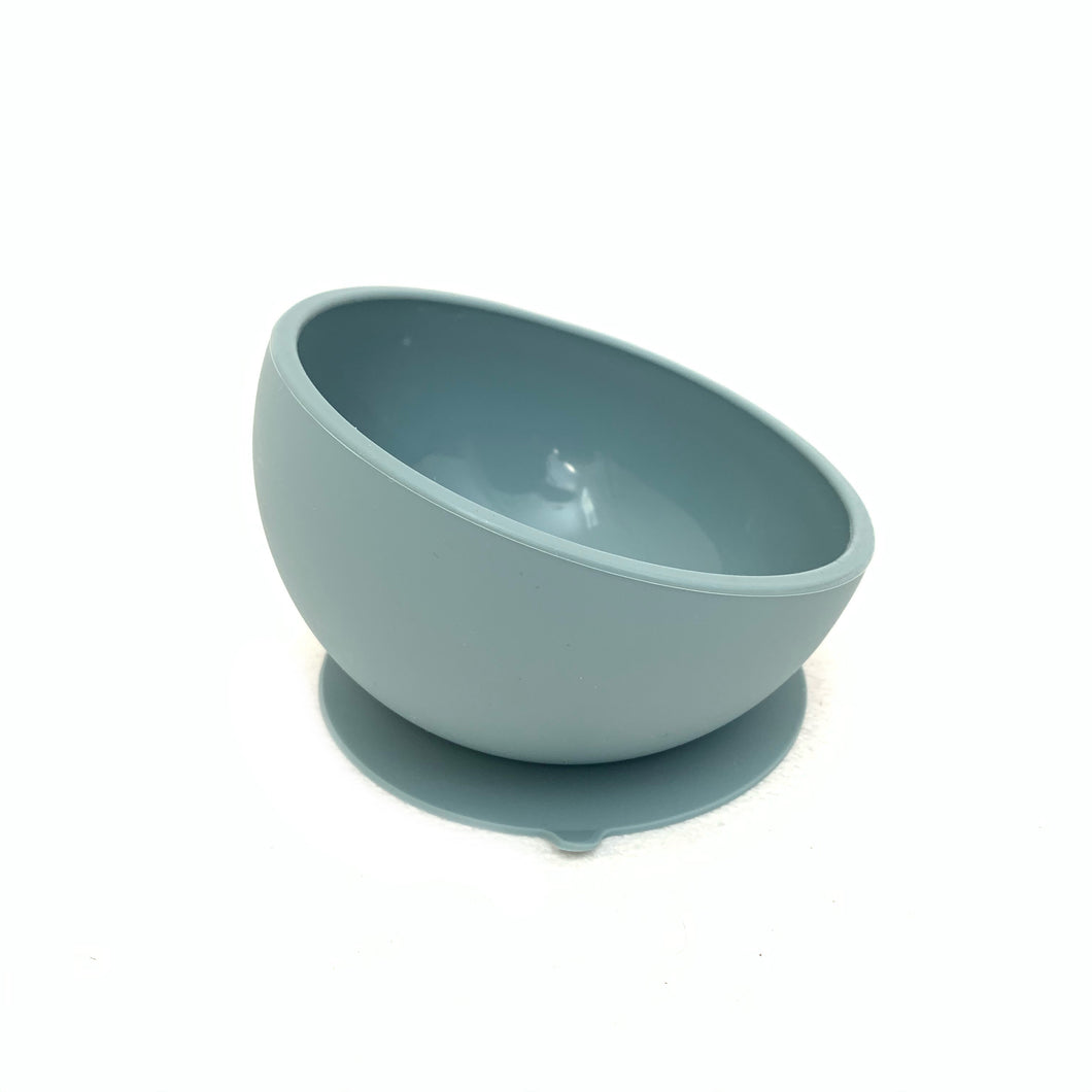 Little Mashies Sucky Bowl Dusty Blue