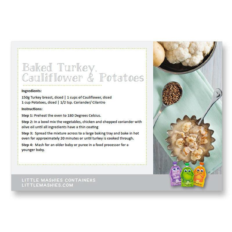 Little mashies Fresh Baby Food eBook