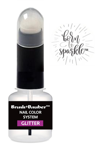 born to sparkle glitter lacquer