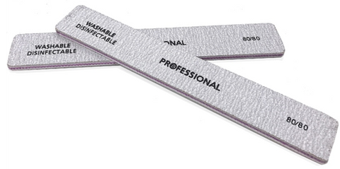 PROFESSIONAL 80/80 Grit Nail File