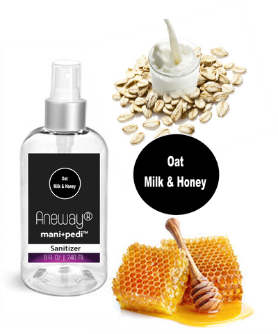 Aneway Mani+Pedi Oat, Milk & Honey Sanitize Spray