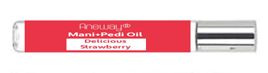 Mani+Pedi™ OIL  *Delicious Strawberry (Roll-On) 1/2 FL. OZ.