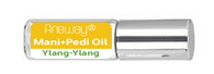 Mani + Pedi™ CUTICLE OIL  - infused with *Ylang-Ylang (EO) - Travel Size Glass Bottle (Roll-On) - Never Sticky or Greasy!