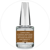 Mani + Pedi™ CUTICLE OIL  - infused with *Milk Chocolate (EO) - 1/3 FL. OZ.  (Full-Size) Glass Bottle (Brush-On) - Nourishing Cuticle + Aromatic Skin Care - Never Sticky or Greasy!