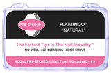 PRE-ETCHED® FLAMINGO™ | Pro Nail Tip™ | 400 CT. BOX