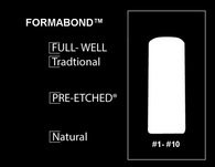 PRE-ETCHED® FORMABOND™ | Pro Nail Tip™ | 100 CT. ASSORTED BOX | NATURAL