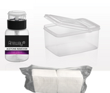 "Aneway® ""Deluxe"" Pro Nail Soak-Off Kit - Gel, Dip System & Acrylic Nail Removal *Free Shipping!"