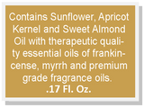 Mani+Pedi™ OIL  *Frankincense-Myrrh (Roll-On) 1/2 FL. OZ.