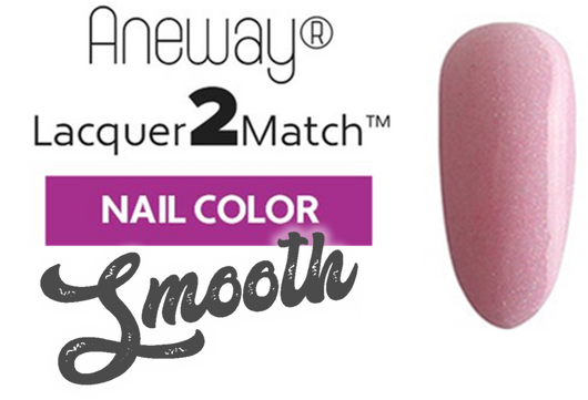 Aneway® SKINNY DIP™ Lacquer To Match!™ | SMOOTH NAIL COLOR | PINK BUBBLE BATH | 1/2 FL. OZ.