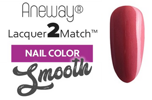 Aneway® SKINNY DIP™ Lacquer To Match!™ | SMOOTH NAIL COLOR | TEXAS ROSE | 1/2 FL. OZ.
