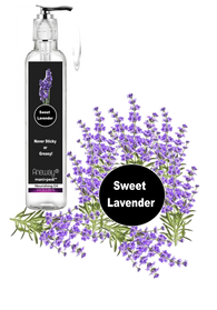 Aneway® Mani+Pedi™ CARE - Nourishing Oil - 4 Fl. Oz. Crystal Clear Bottle - Elegant Silver Pump Top Dispenser - Sweet Lavender (EO)