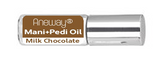 Mani + Pedi™ CUTICLE OIL   - infused with *Milk Chocolate (EO) - Travel Size Glass Bottle (Roll-On) - Never Sticky or Greasy!