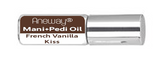 Mani + Pedi™ CUTICLE OIL - infused with *French Vanilla Kiss (EO) - Travel Size Glass Bottle (Roll-On) - Never Sticky or Greasy!