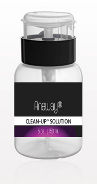 Aneway® CLEAN-UP™ Solution | gel . brush . skin . nails