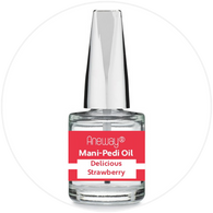 Mani+Pedi™ OIL *Delicious Strawberry (Brush-On) 1/3 FL. OZ.