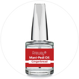 Mani + Pedi™ CUTICLE OIL - infused with *Gingerbread (EO) - 1/3 FL. OZ.  (Full-Size) Glass Bottle (Brush-On) - Nourishing Cuticle + Aromatic Skin Care - Never Sticky or Greasy!