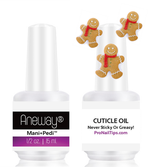 Aneway® Mani+Pedi™ PRO CUTICLE OIL (Gingerbread Cookie) Special Fall Offer!