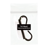 """Lil' Black"" Manicuring Nail Scrub Brushes - 10 CT."