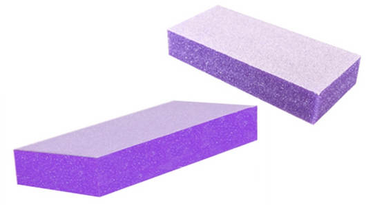 Aneway® SKINNY DIP™ PREMIUM 2-WAY PURPLE NAIL BUFFER BLOCK