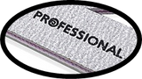 Aneway® PROFESSIONAL Zebra 100/180 Grit Cushioned Pro Nail File - Washable & Disinfect-able