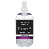 "Aneway® ""Rinse-Free"" Spray-On Hand Wash - Un-Scented or Scented!"