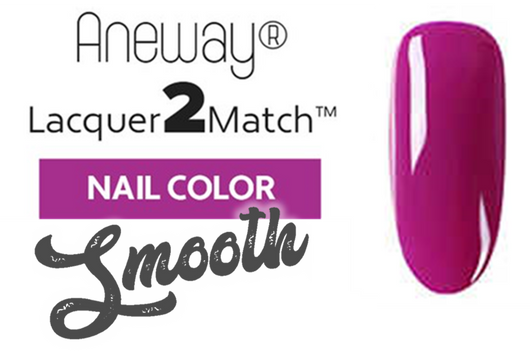 Aneway® SKINNY DIP™ Lacquer To Match!™ | SMOOTH NAIL COLOR | CLOISONNE FUSHIA | 1/2 FL. OZ.