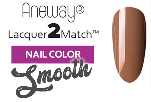 Aneway® SKINNY DIP™ Lacquer To Match!™ | SMOOTH NAIL COLOR | PEACHY BEIGE | 1/2 FL. OZ.