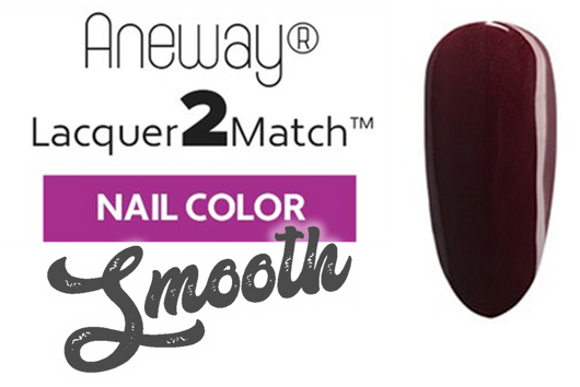 Aneway® SKINNY DIP™ Lacquer To Match!™ | SMOOTH NAIL COLOR | CHOCOLATE FUDGE | 1/2 FL. OZ.