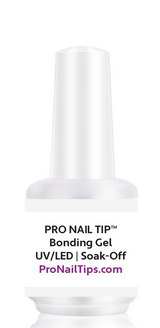 Tip Tack™ - PRE-ETCHED® PRO GEL TIP™ ADHESIVE GEL+ BONDING GEL | BASE COAT