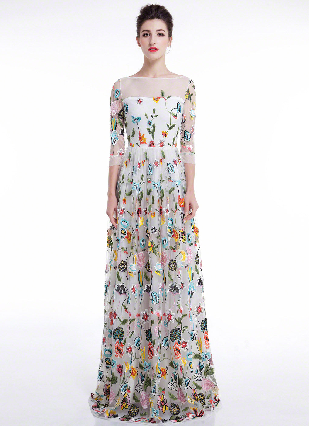 Floral Evening Gowns