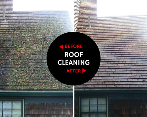 Cape Cod Roof Cleaning Services