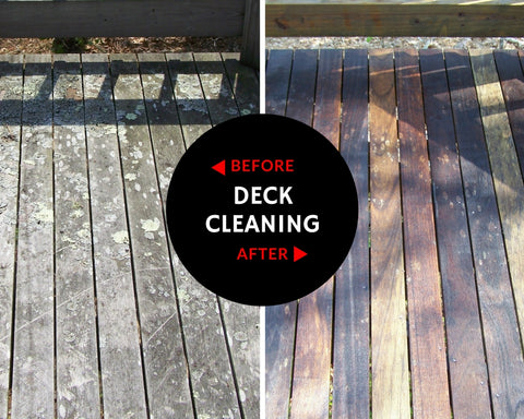 Cape Cod Deck Cleaning Services