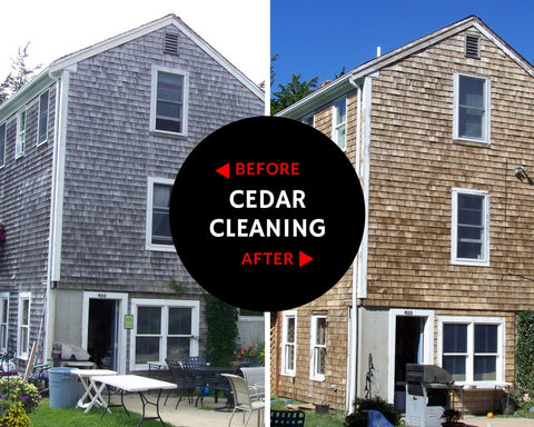 Cape Cod Cedar Cleaning Services