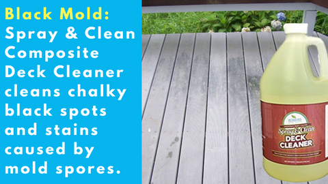 best composite deck cleaner for black mold