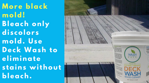 BEST WOOD DECK CLEANER FOR BLACK MOLD