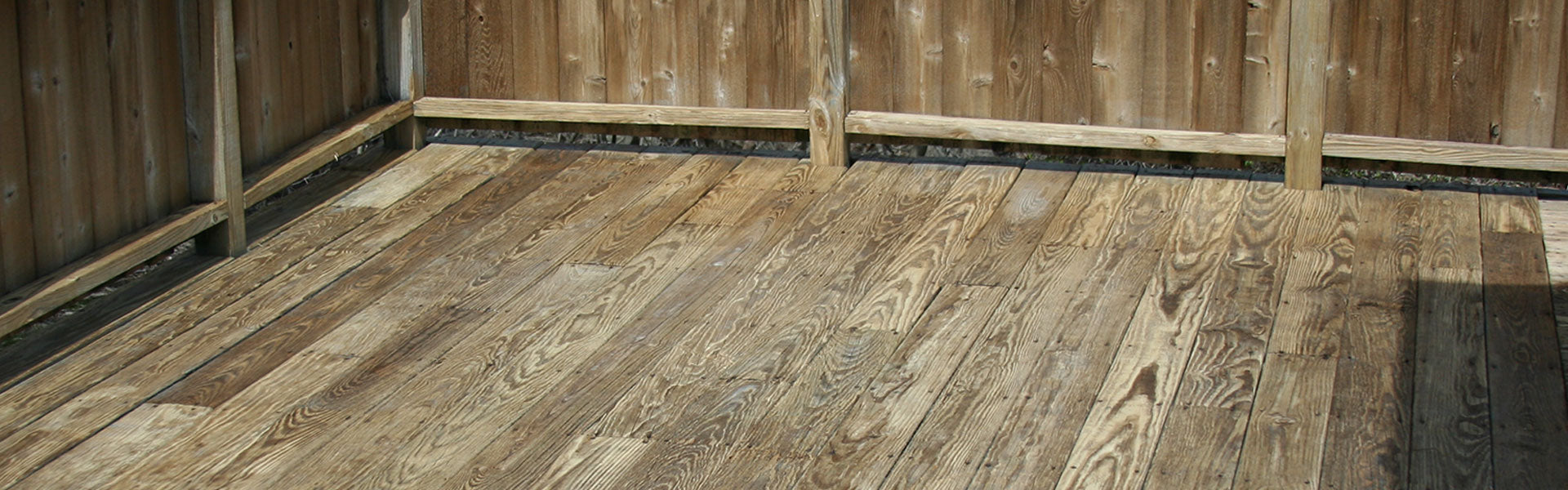 Washed Deck