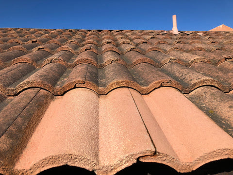 Tile Roof Dry After Cleaning