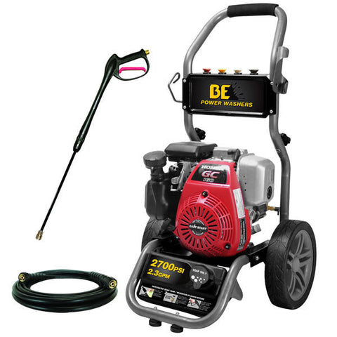 Image of 2700 psi Pressure Washer by BE Pressure w/ Honda Engine (BE275HAS)