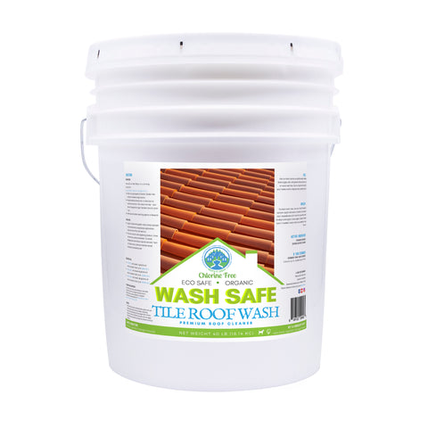 TILE ROOF WASH Premium Eco-Safe and Organic Tile Roof Cleaner