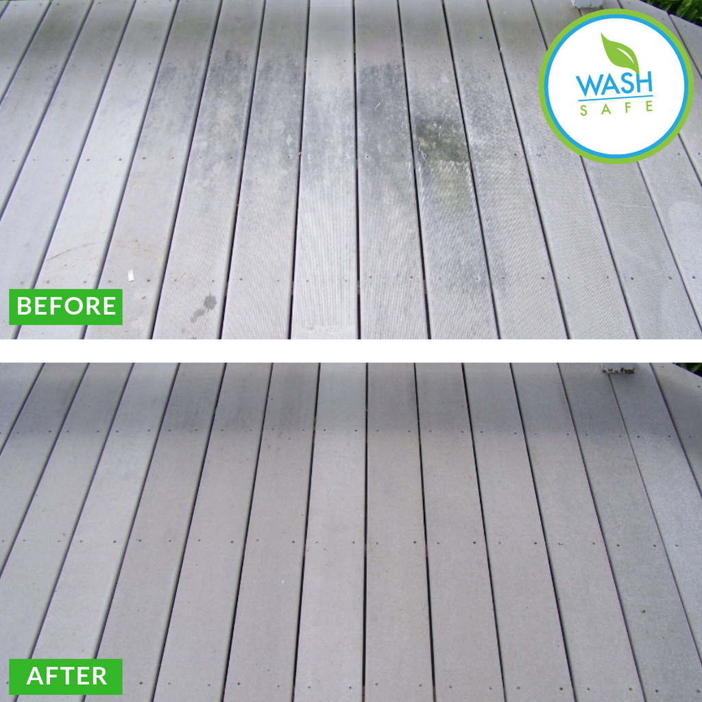 World's Best Spray and Clean Composite Deck Cleaner recommended by Trex and Timbertech