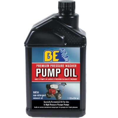 BE Pressure 1 Liter (1 L) Premium Pressure Washer Pump Oil