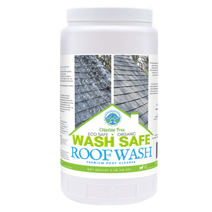ROOF WASH Premium Eco-Safe and Organic Roof Cleaner